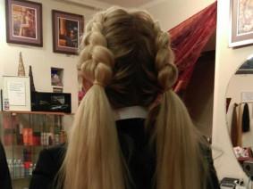 светлые волосы плетение