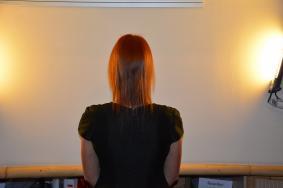 рыжие волосы до наращивания