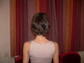 каштановые волосы до наращивания