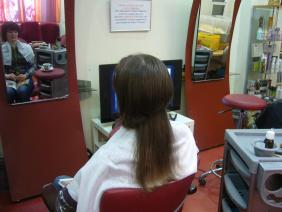 русые волосы до наращивания