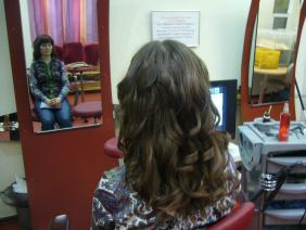русые волосы после наращивания