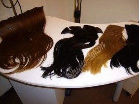 фото разных накладных волос