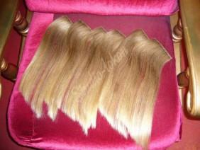 пряди цвета блонд