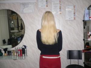 фото длинных прямых волос